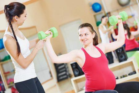 Έγκυος στο Γυμναστήριο